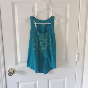 Mudd Sun/Moon Road Trip Tank Relaxed Fit, size XS
